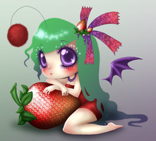 Sweetest Strawberry by roseannepage