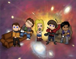 The Big Bang Theory by panxitamane