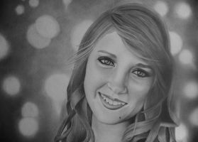 Graphite Portrait by Pappimaster