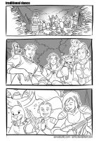 DA - Traditional Dance, Pg 1 by aimo