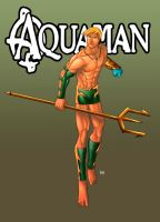 aquaman - comiss by funeralwind