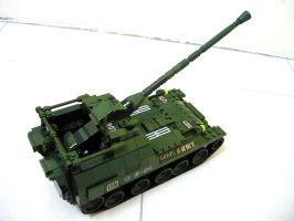 Russian WWII SPG Tank 7 by SOS101