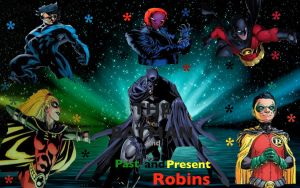 The Bat and The Robins by camacam11