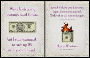 The Most Honest Greeting Card by suspenlute
