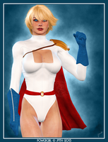 Powergirl III by poserfan