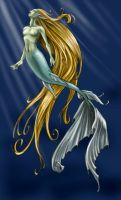Mermaid 1 by Bamfette