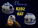 Amaze-ing R2-D2 Hat by Amaze-ingHats
