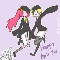 2014 Happy April 1st by PvElephant
