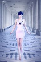 Pink, purple and blue II by Paige-Addams
