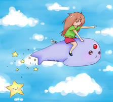 Flying Seal 1000 by Kumiko15