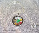 Animal Crossing Floating Charms Locket Necklace by TorresDesigns