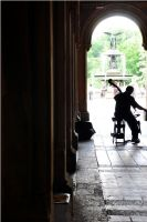 Central Park Cellist by xspes