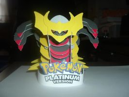 3-D Giratina Figure by ShadowFire90