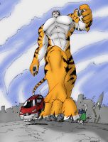 - Big Kitty in the City - by notveryathletic
