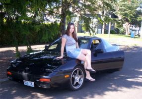 My S13 240SX Fastback by InADream