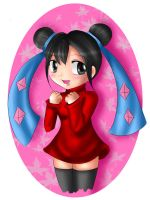 55 Waiting :Pucca: by AnyiDiamond