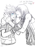 KH: Kiss those tears away by Kumagorochan