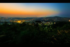 Taipei From Maokong by WiDoWm4k3r