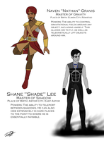 Elemental Masters Part 5: Gravis and Shade by joshuad17