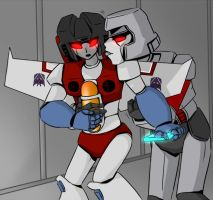 TF - Megatron x Starscream collab with StarActive by Cloud-Kitsune