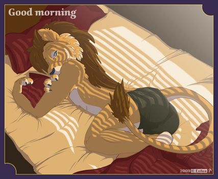 Good morning by DragonExiles