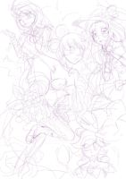 Waltz Of The Flowers Wip by Twinkiesama