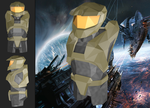 Master Chief rev. 2 (Low Poly) by MadLittleMods
