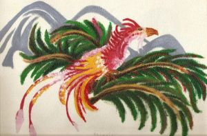 Pheonix in the Palms by hno3burns