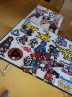 Animasia le haillan my perler beads stand part 2 by Cimenord