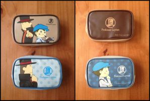 Professor Layton and the Eternal Diva Mobile Pouch by BenjaminHunter
