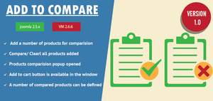 Virtuemart Product Compare Extension by CmsChanel