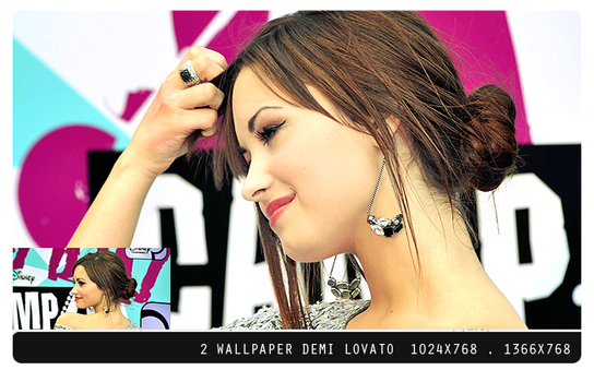 Wallpaper Demi Lovato- by 0nlyFame