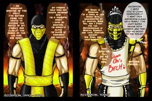 MK - Scorpion ''Then and Now'' by J0SERO