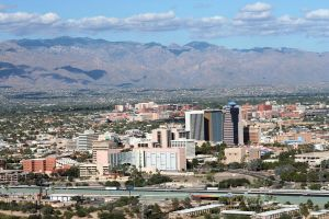 Tucson north and east of I-10 by fatherofanartist