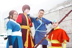 Avatar: The Last Airbender - Shine Bright by YumiKoyuki