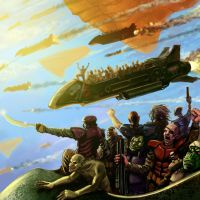 Space pirates by selfu