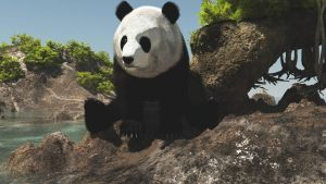 Panda1 by fractal2cry