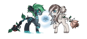 :Glowsprite Adopts:Simple Visions and Lilly Closed by AzrealRou