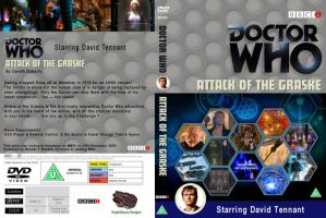 Doctor Who - Attack of the Graske R2 DVD Cover by DJToad
