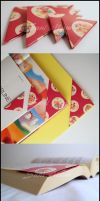 Origami Bookmark 4 pieces - (A) by SuniMam