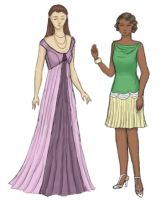 Dresses 2: an elf and a flapper by taylor-of-the-phunk
