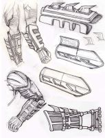 Batman Gauntlets 1 by LandonLott