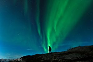 Me and the Aurora by SindreAHN