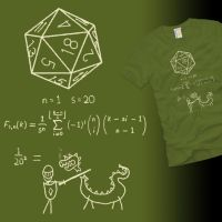 The Science of 20 Sided Dice by graffd02