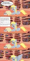 Derpy reads fanfiction by piotrmil