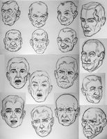 Various Faces by PMucks