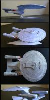 USS Enterprise_papercraft by FranciscoETCHART
