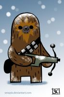 Hoth Chewbacca by Serapio