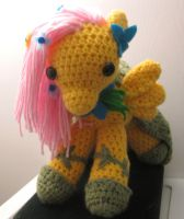 My Little Pony - Gala Fluttershy - Finished by kaerfel