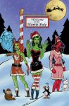 She Hulks Christmas colored by NinjaSpidey